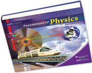 Cover of Foundations of Physics textbook
