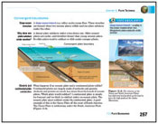 Sample page from Earth Science textbook