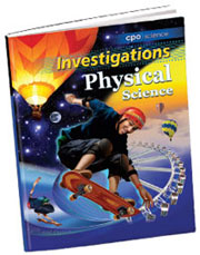 Cover of Physical Science Investigation Manual