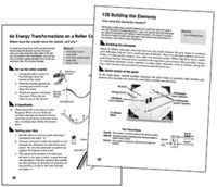 Page from Physical Science Investigation Manual