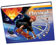 Cover of Physical Science textbook