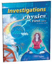 Cover of Physics A First Course textbook