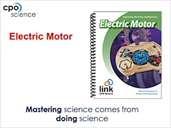 Cover to Building an Electric Motor presentation slides (PDF)