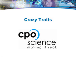 Cover to Genetics, Crazy Traits, and CPO's Link Learning Module (PDF)